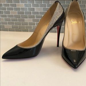 Black and silver, So Kate Christian Louboutins